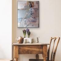 Ann Rudd    At the Symphony    Oil on canvas    20 x 16  