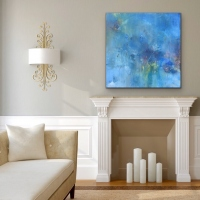 Sheila O'Keefe Braun    Abundance    Acrylic on canvas    36 x 36  