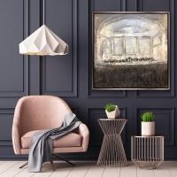 Gregory Prestegord    Carnegie Hall    Oil on canvas    40 x 40  