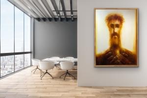 David Silvah    Untitled     Acrylic on Canvas    60 x 40    $2,200.